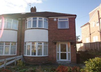 Thumbnail 3 bed semi-detached house to rent in Eden Mount, Burley, Leeds