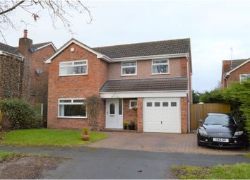 Thumbnail 4 bed detached house for sale in Lime Tree Drive, Farndon