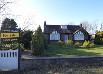 Thumbnail 3 bed detached bungalow for sale in Bosley, Macclesfield, Cheshire