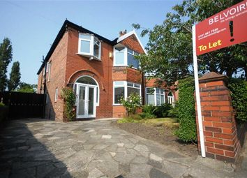 Thumbnail 4 bedroom semi-detached house to rent in Hartley Hall Gardens, Gowan Road, Whalley Range, Manchester