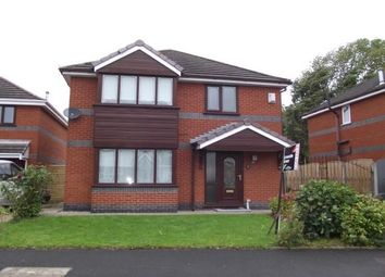 Thumbnail 4 bed detached house to rent in Foxwood, St. Helens