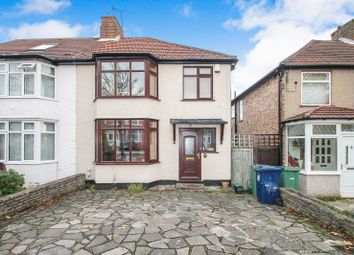 Thumbnail Semi-detached house for sale in Russell Road, Northolt, Middlesex