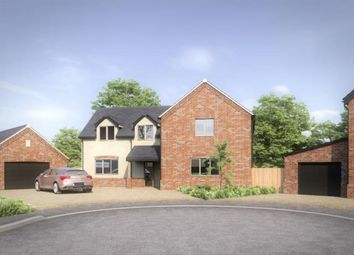 Thumbnail 4 bed detached house for sale in Hillsend Lane, Attleborough, Norfolk
