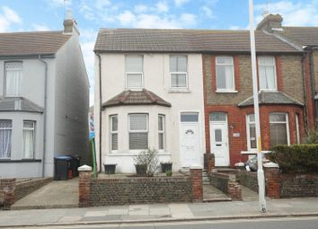 Thumbnail 3 bed end terrace house for sale in Ramsgate Road, Margate