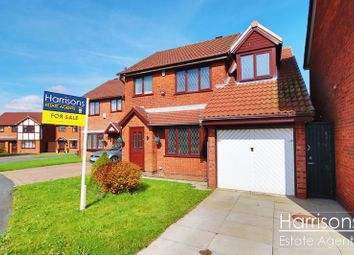 Thumbnail 3 bedroom detached house for sale in Wayfaring, Westhoughton, Bolton