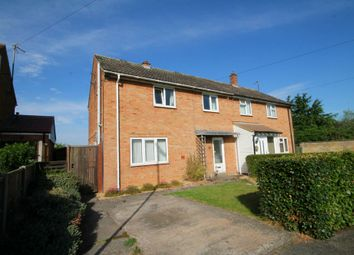 Thumbnail 3 bed semi-detached house for sale in Herrings Close, Stow-Cum-Quy