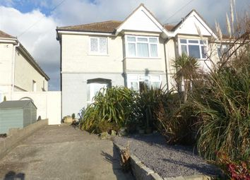 Thumbnail 3 bedroom semi-detached house for sale in Chickerell Road, Weymouth, Dorset