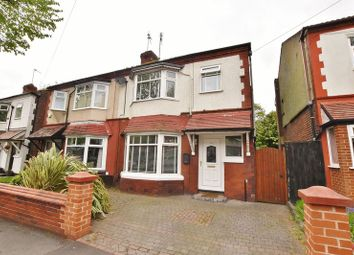 3 bed semi-detached house for sale in Delamere Avenue, Salford M6