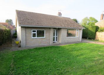 Thumbnail 2 bed detached bungalow to rent in High Street, Reepham, Lincoln