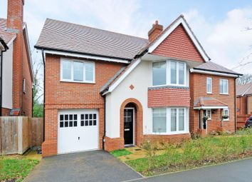 Thumbnail 4 bed detached house to rent in Hengest Avenue, Esher, Surrey