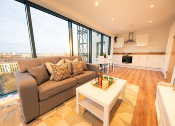 Thumbnail 2 bed flat for sale in 15 Trafford Road, Salford, Manchester