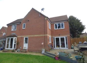 Thumbnail 4 bed detached house for sale in Liberty Drive, Duston, Northampton, Northamptonshire