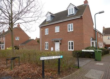 Thumbnail 4 bed property to rent in Saunders Close, Peterborough