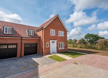Thumbnail 3 bedroom semi-detached house for sale in Buzzard Way, Holt
