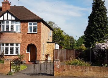Thumbnail 3 bed semi-detached house for sale in Pooley Avenue, Egham, Surrey