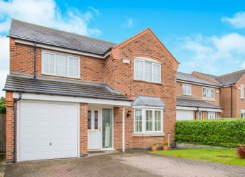 Thumbnail 4 bed detached house for sale in Cleveland Road, Wigston