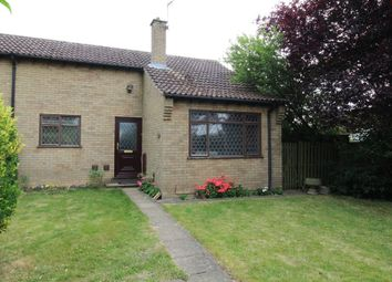 Thumbnail 2 bed terraced bungalow for sale in Gorse Close, Lakenheath, Brandon