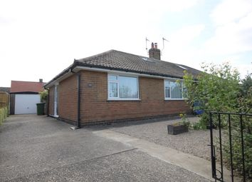 Thumbnail 2 bed semi-detached bungalow for sale in Hallam Close, Filey