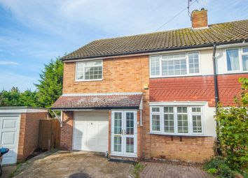 Thumbnail 4 bed semi-detached house for sale in Capel Close, Broomfield, Chelmsford