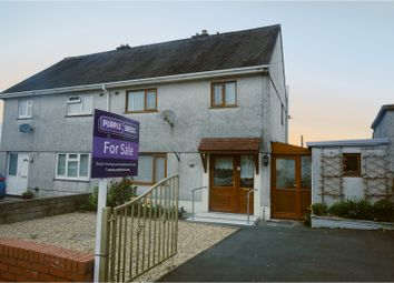 Thumbnail 3 bed semi-detached house for sale in Carnhywell Road, Llanelli
