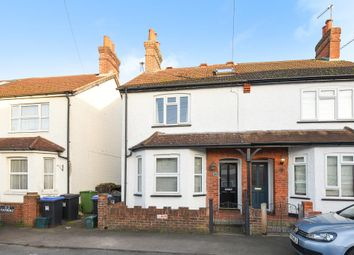 Thumbnail 3 bed semi-detached house for sale in Old Woking, Woking