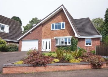 Thumbnail 4 bed detached house to rent in Chestnut Drive, Lichfield