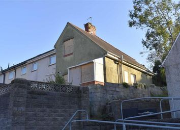 Thumbnail 2 bedroom end terrace house for sale in Granogwen Road, Swansea