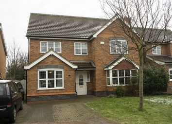 Thumbnail 6 bedroom detached house for sale in Burgon Crescent, Winterton, Scunthorpe, Lincolnshire