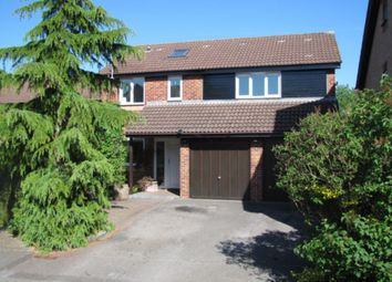 Thumbnail 4 bedroom detached house for sale in Lambourne Drive, Locks Heath