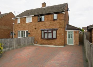 Thumbnail 3 bed semi-detached house for sale in Adstone Road, Caddington, Luton