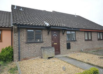 Thumbnail 2 bed terraced bungalow for sale in Nursery Close, Hellesdon, Norwich