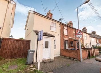 Thumbnail 2 bedroom end terrace house for sale in Maidstone Road, Felixstowe
