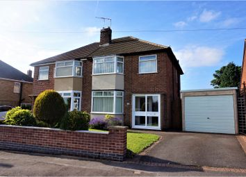 Thumbnail 3 bed semi-detached house for sale in School Lane, Coalville
