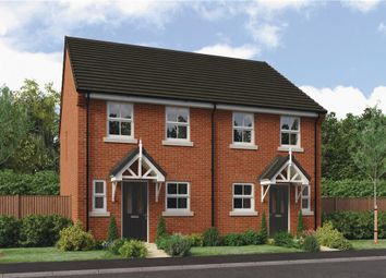 "Thumbnail 2 bed semi-detached house for sale in ""Rendell"" at Clappers Lane, Bracklesham Bay, Chichester"