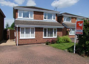 Thumbnail 3 bed detached house for sale in Lancaster Drive, Tutbury, Burton-On-Trent