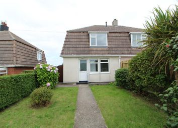 Thumbnail 2 bed semi-detached house to rent in Churchtown Road, Illogan, Redruth