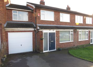 Thumbnail 4 bedroom semi-detached house for sale in Severn Road, Oadby, Leicester