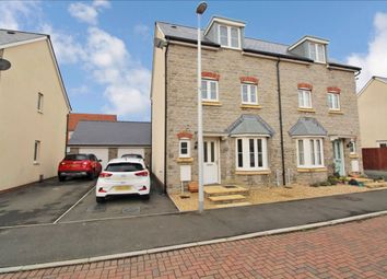 Thumbnail 4 bed town house for sale in Cherry Crescent, Penllergaer, Swansea