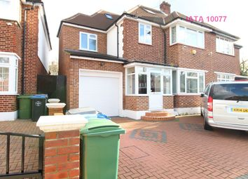 Thumbnail 5 bedroom semi-detached house for sale in Crundale Avenue, London