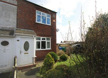 Thumbnail 3 bed end terrace house for sale in Mercer Street, Burtonwood, Warrington