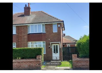 Thumbnail 2 bed semi-detached house to rent in Lady Road, York
