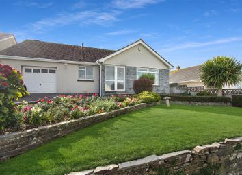 Thumbnail 4 bed detached bungalow for sale in Trerice Drive, Tretherras, Newquay
