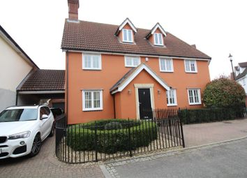 Thumbnail 5 bed link-detached house for sale in Armourers Close, Bishop's Stortford