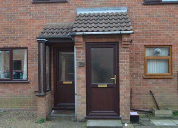 Thumbnail 2 bedroom flat to rent in Hamilton Close, North Walsham