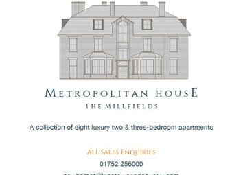Thumbnail 2 bed flat for sale in Metropolitan House, The Square, The Millfields, Plymouth, Devon