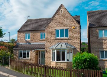 Thumbnail 4 bed detached house for sale in Grange Gardens, Loscoe, Heanor