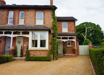 Thumbnail 4 bed semi-detached house for sale in Brook Lane, Alderley Edge