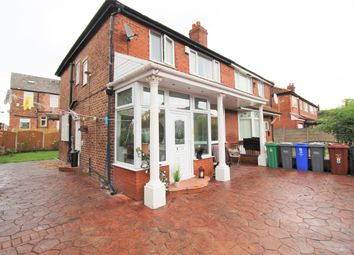 Thumbnail 3 bed semi-detached bungalow for sale in Ayton Grove, Longsight, Manchester