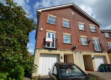 Thumbnail 4 bedroom town house for sale in Cambrian Crescent, Marshfield, Cardiff