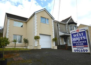 Thumbnail 4 bed detached house for sale in Heol Y Gors, Cwmgors, Ammanford